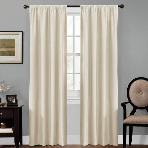 Maytex Smart Curtains Julius 100 Percent Blackout Window Curtain
