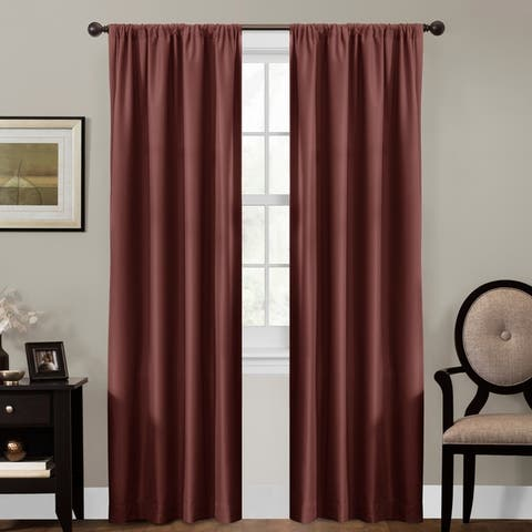 Maytex Smart Curtains Julius 100 Percent Blackout Window Curtain