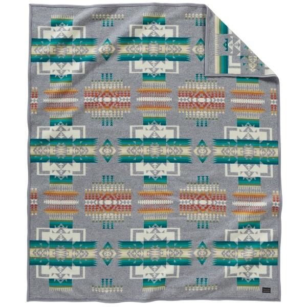 Pendleton Chief Joseph Grey King Blanket