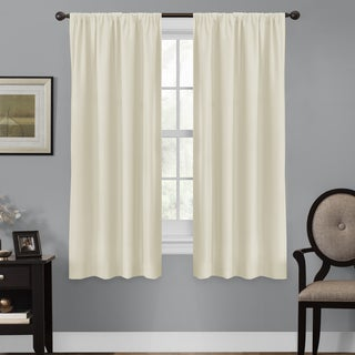 Maytex Smart Curtains Julius 100 Percent Blackout 63 Inch Window Curtain Panel