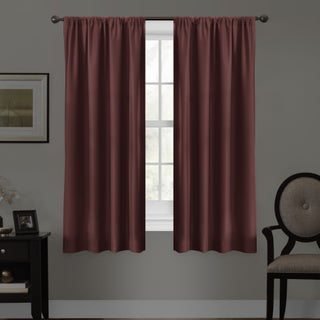 Maytex Smart Curtains Julius 100 Percent Blackout 63 Inch Window Curtain Panel (4 options available)