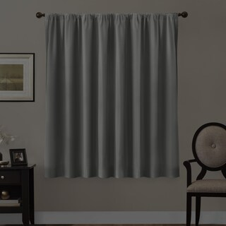 Maytex Smart Curtains Julius 100 Percent Blackout Window Curtain Panel