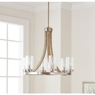 Kichler Lighting Grand Bank Collection 6-light Distressed Antique Gray Chandelier