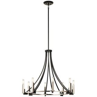 Kichler Lighting Bensimone Collection 8-light Black Chandelier