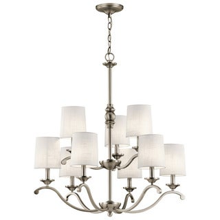 Kichler Lighting Versailles Collection 9-light Antique Pewter Chandelier