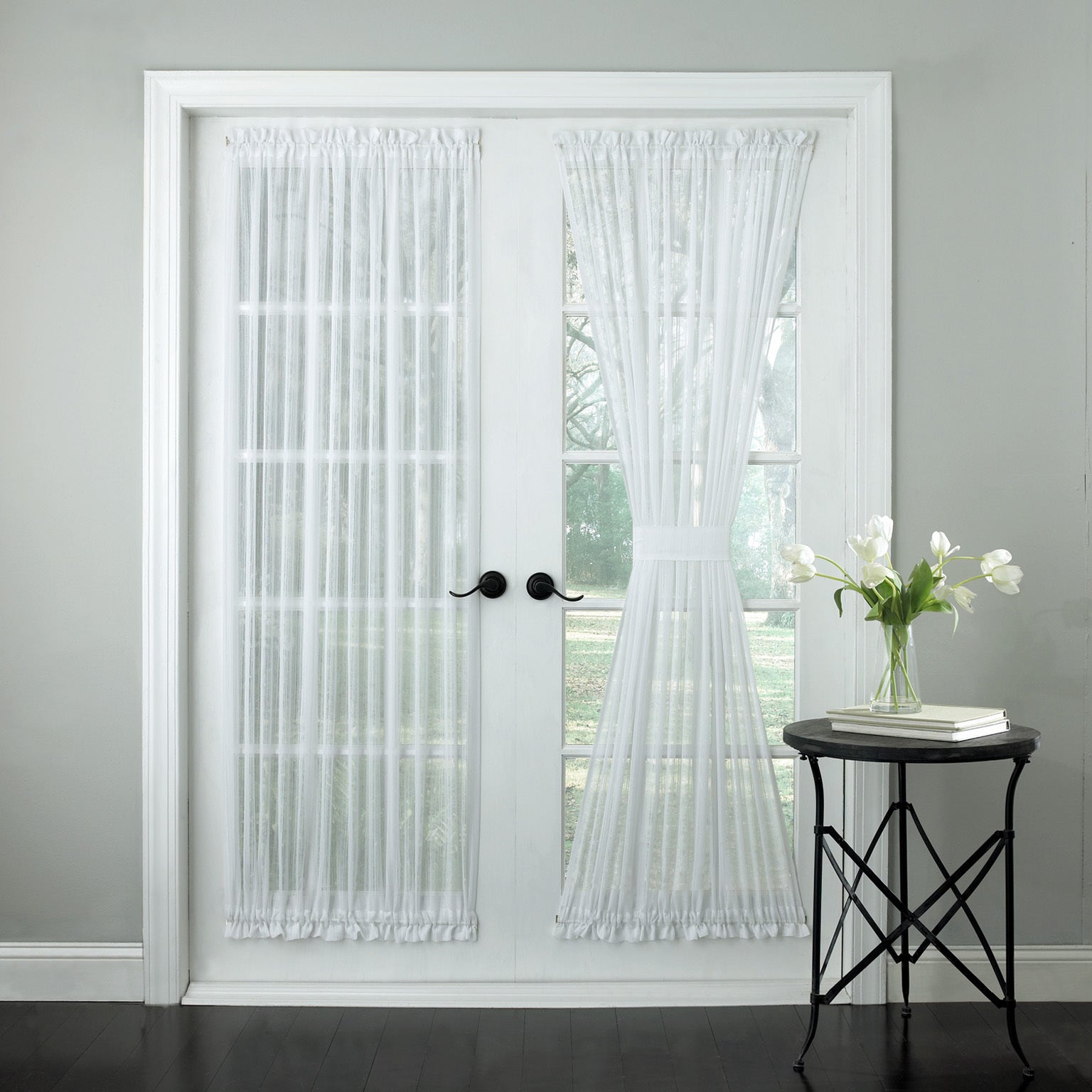 72 Inch Tailored Door Curtain Panel