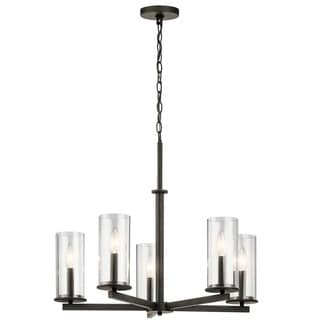 Kichler Lighting Crosby Collection 5-light Olde Bronze Chandelier