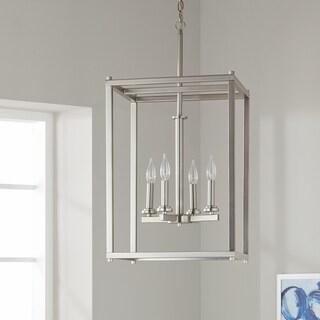 Kichler Lighting Crosby Collection 4-light Brushed Nickel Foyer Pendant