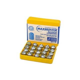 Thompson Center Accessories Maxi-Hunter Prelubricated Bullets .50 Caliber 275Gr (per 20)