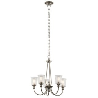 Kichler Lighting Waverly Collection 5-light Classic Pewter Chandelier