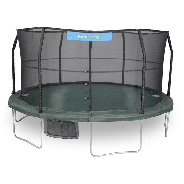 Jumpking 15-foot Trampoline Enclosure Combo