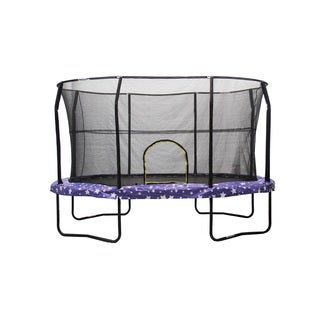 Jumpking American Star Galvanized Steel 8-foot x 12-foot Trampoline Enclosure Combo