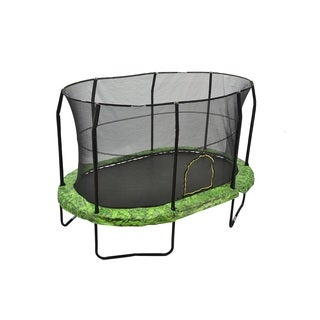Jumpking 9-foot by 14-foot Fern Trampoline Enclosure Combo