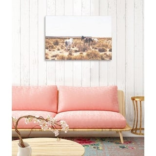 Oliver Gal 'Southwest Horses' Canvas Art