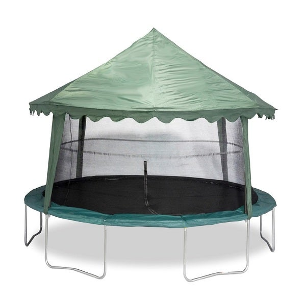 Jumpking Solid Green 14-feet Canopy Cover