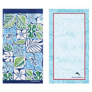Tommy Bahama Tiki Block/ Palm Spring Beach Towel Set
