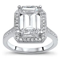 9 Moissanite Rings