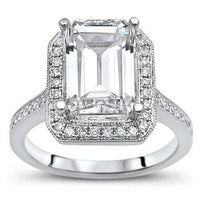 Unique Moissanite Rings