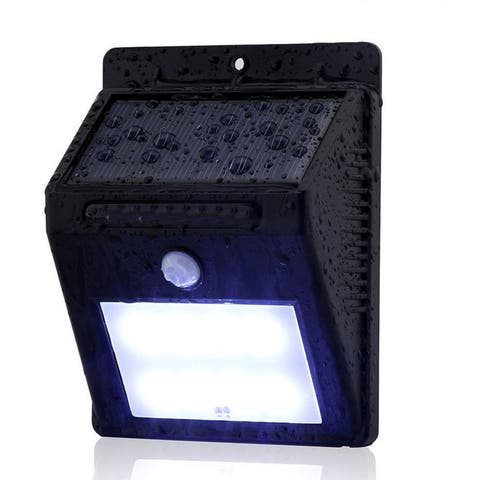 Outdoor Solar Powered Wireless Waterproof Security Motion Sensor Light