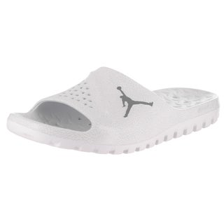 Nike Jordan Men's White Super.Fly Team Slide 2 Graphic Sandals