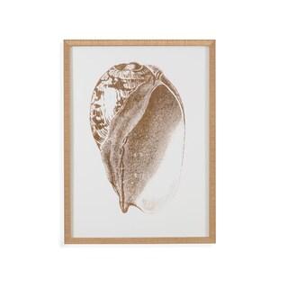 'Gold Foil Shell III' Wall Art