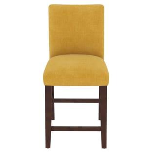 Skyline Furniture Linen Custom Counter Stool
