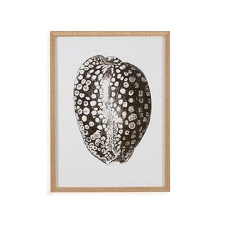 Bassett Mirror Co 'Gold Foil Shell II' Framed Wall Art