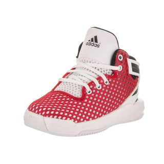 Adidas Toddlers' D Rose 6 I Red/White Leather Basketball Shoes