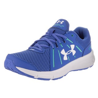 Under Armour Women's Dash Rn 2 Blue Synthetic Leather Running Shoes