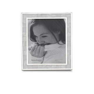 Reed & Barton Mother of Pearl Metal 5x7 Frame
