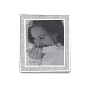 Reed Barton Mother of Pearl 8x10 Photo Frame