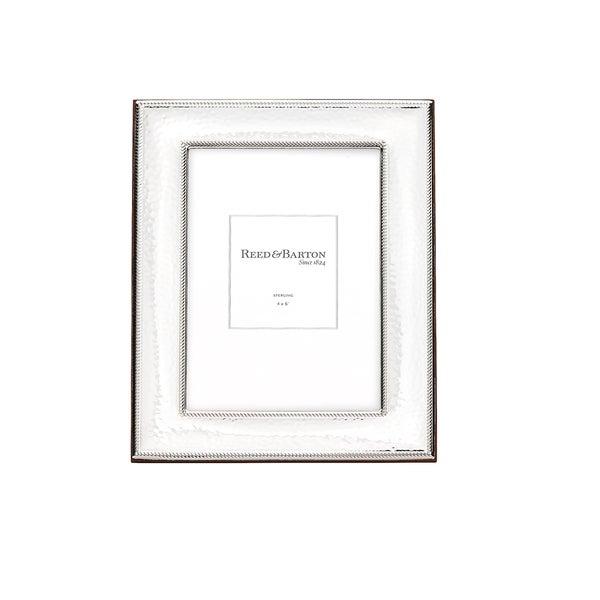 Shop Reed & Barton Bristol Sterling Silver 4x6 Picture Frame - Free ...