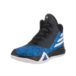 Adidas Men's 'Light Em Up 2' Blue Mesh Basketball Shoe