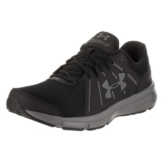 Under Armour Men's 'Dash Rn 2' Black Synthetic Leather Running Shoe