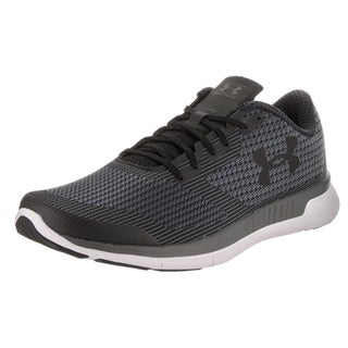 Under Armour Men's Charged Lightning Black Synthetic Leather Running Shoe