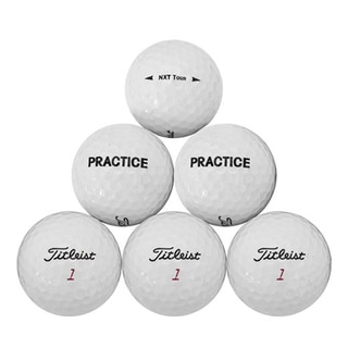 Titleist NXT Tour Practice Recycled Golf Balls (Pack of 50)