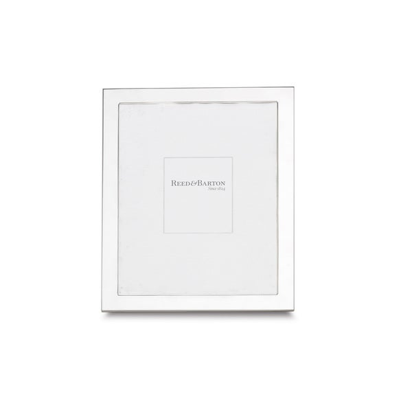 Shop Reed & Barton Sterling Silver 8x10 Narrow Border Frame - Free ...
