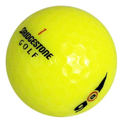 Bridgestone E6 Yellow Recycled Golf Balls (Pack of 12)