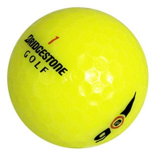 Bridgestone E6 Yellow Recycled Golf Balls (Pack of 12)