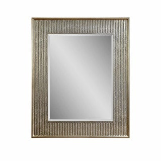Bling Beveled Glass Resin Frame Wall Mirror