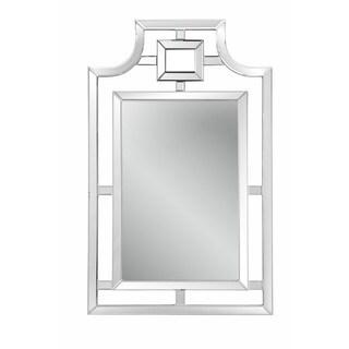 Bonifacio Silver-colored Beveled Glass Wall Mirror
