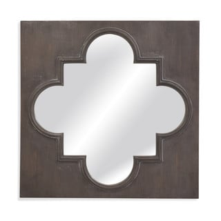 Boden Grey Resin-framed Wall Mirror