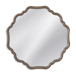 Davenport Grey Resin-framed Wall Mirror