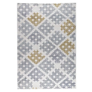 M.A.Trading Hand Woven Lowell Grey/Gold (9'x12') (India)