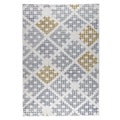 M.A.Trading Hand Woven Lowell Grey/Gold (9'x12')
