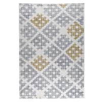 M.A.Trading Hand Woven Lowell Grey/Gold (2'x3')