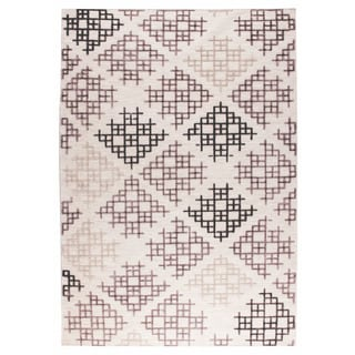 M.A.Trading Hand Woven Lowell Grey/Beige (2'x3')