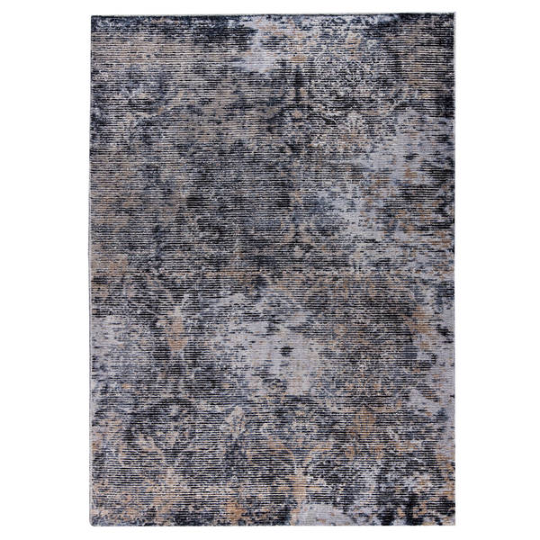 Handmade M.A.Trading Mehran Dark Grey (2'x3') (India)