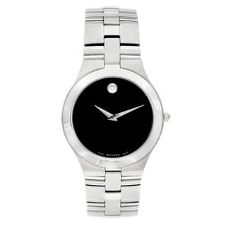 Movado 'Juro' Men's 0605023 or Women's 0605024 Stainless Steel Watch|https://ak1.ostkcdn.com/images/products/1433506/P1021875.jpg?impolicy=medium