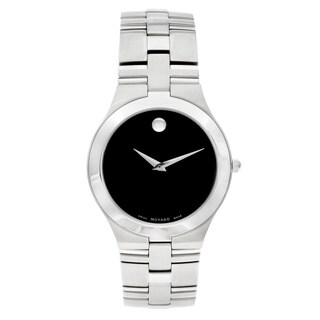 Movado 'Juro' Men's 0605023 or Women's 0605024 Stainless Steel Watch (2 options available)